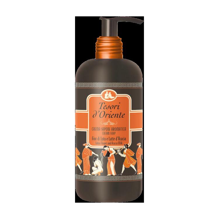 Tesori d'Oriente Fior-di-Loto-300-ml Жидкое мыло Тесори 300мл Лоттос
