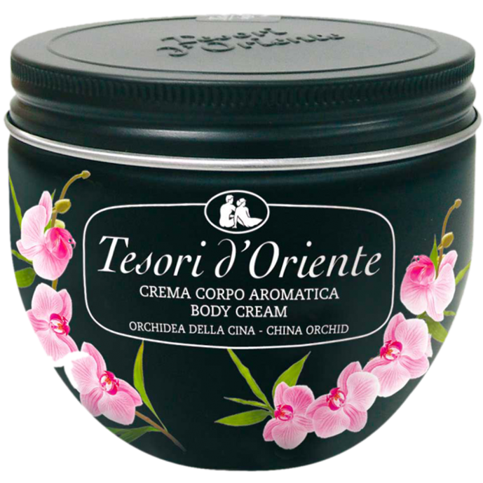 Tesori-d'Oriente-cream-Chinese-Orchid-300ml Тесори крем для тела Орхидея