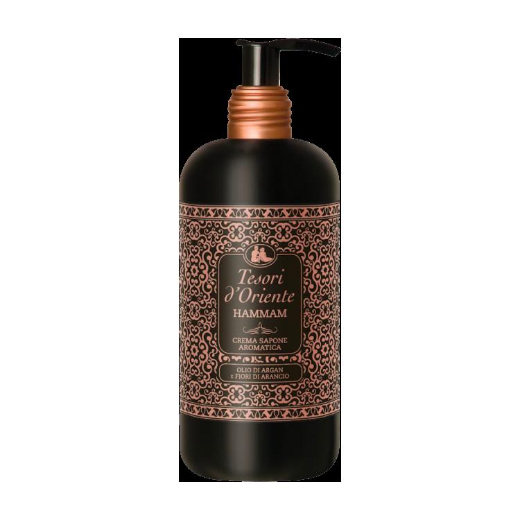 Tesori d'Oriente Hammam-300-ml, Тесори жидкое мыло для рук и лица Хаммам