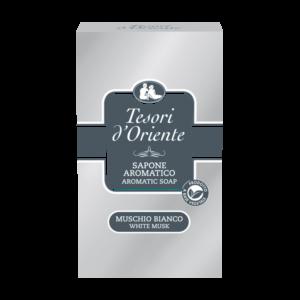 Tesori-d'Oriente-Sapone-Muschio-Bianco, Твёрдое мыло Мускус Тесори
