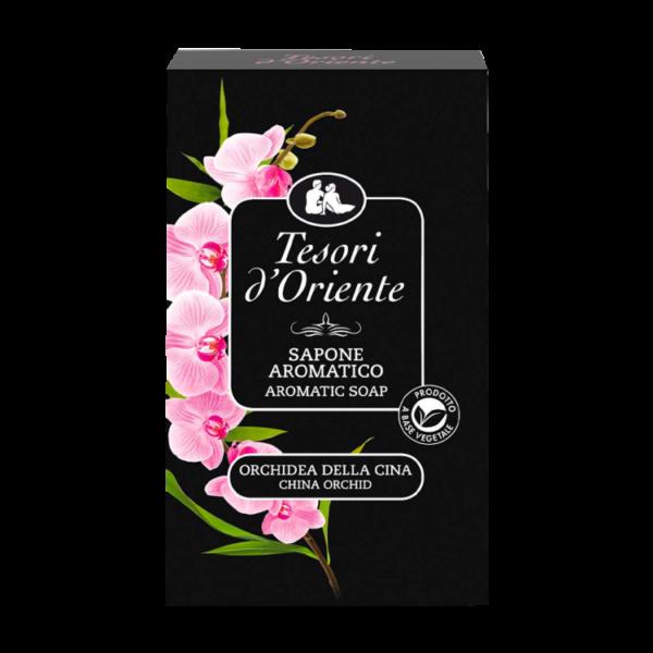 Tesori-d'Oriente-Sapone-Orchidea, Тесори мыло Орхидея 150 грамм